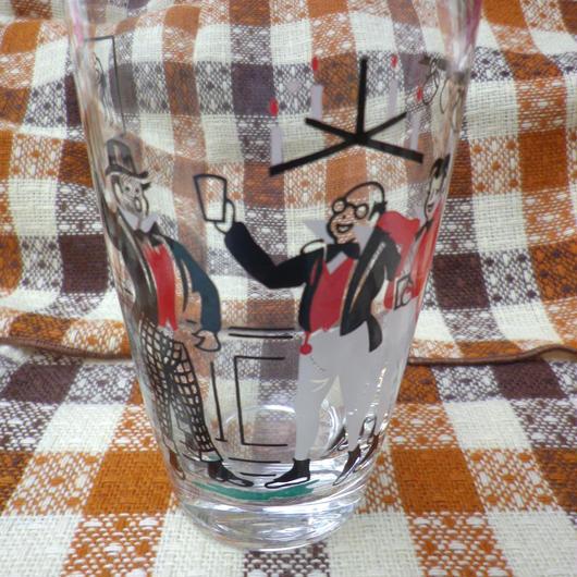 "【USED】Vintage "" Cheers!"" Glass"