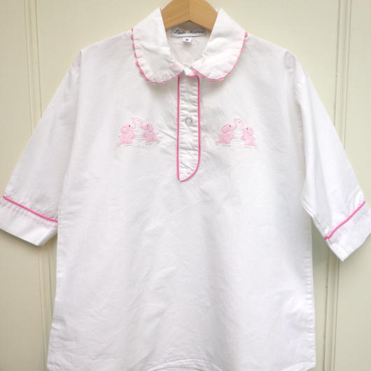 【USED】Pink Elephants Blouse