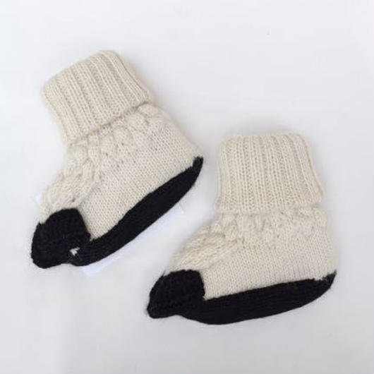 □【oeuf】Animal Booties /sheep