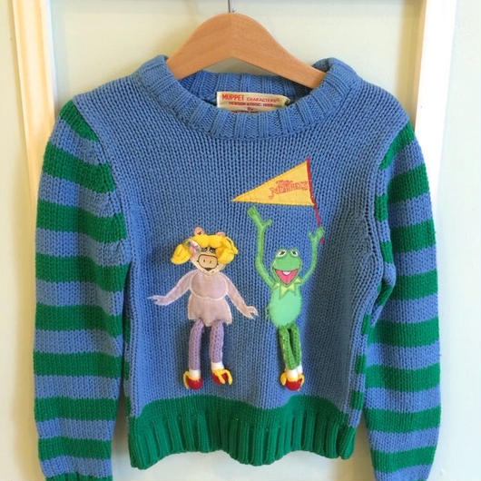 "【USED】Vintage ""The MUPPETS"" Sweater"