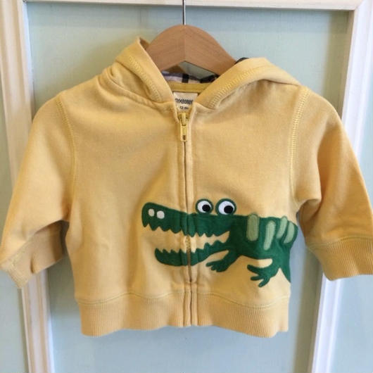 """【USED】""""GYMBOREE"""" Alligator Hoodie"""