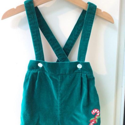 【USED】Lollipop motif Velvet Short pants