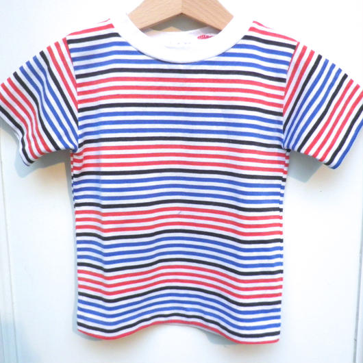 【USED】Health-tex Tricolor Color T Shirts( Made in U.S.A.)