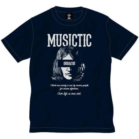 MUSICTIC -navy-