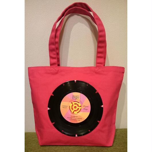 bagu canvas tote S  pink