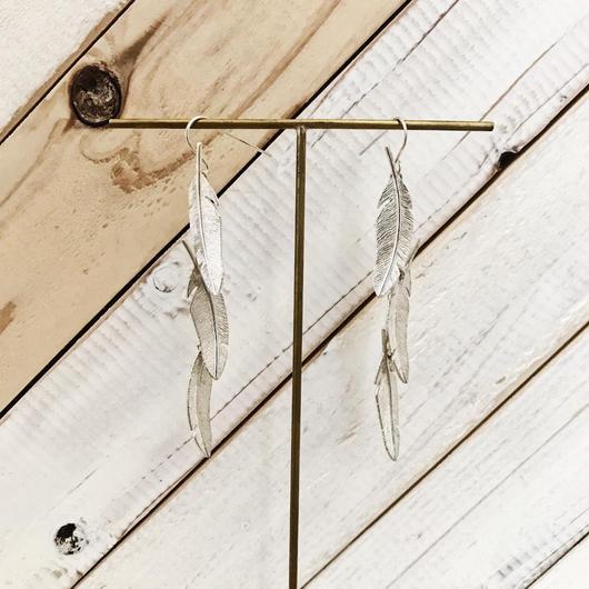 feather pierce 02 silver