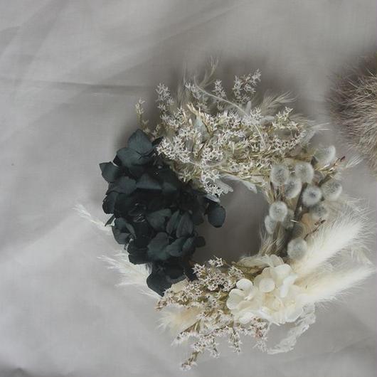 Pussy willow mini wreath