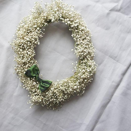 Kasumigrass oval wreath