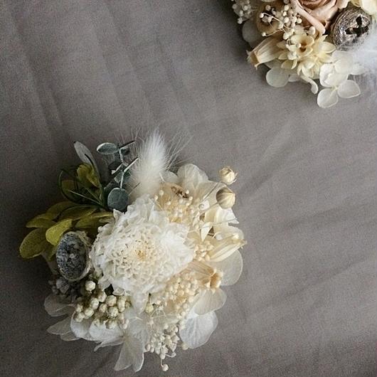 Y様専用 Mam&hydrangea corsage