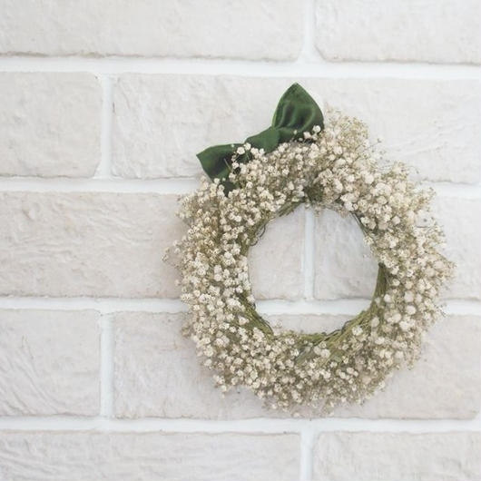 Kasumigrass wreath