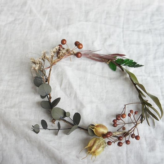 Flamewreath of connecting nature