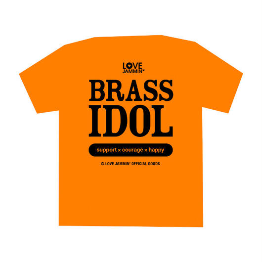 BRASS IDOL T(オレンジ)