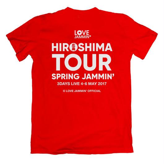 広島ツアーTシャツ