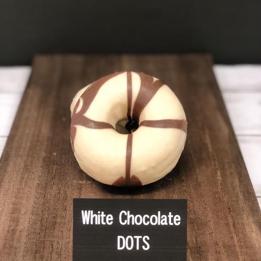 ホワイトチョコ・ドッツ