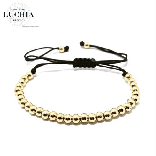 Handmade woven bracelet  type 4 gold