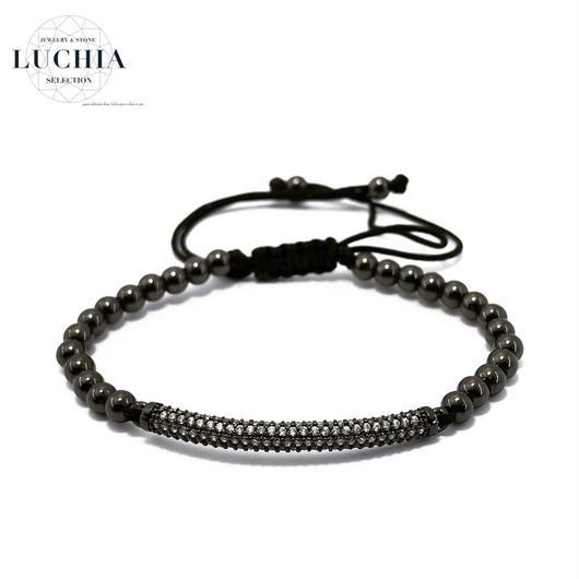 Handmade woven bracelet  type 3 black