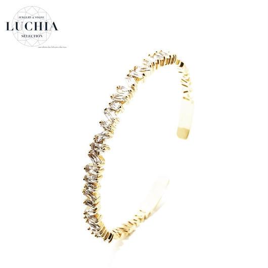 Handmade woven bracelet  type 47 gold