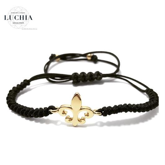 Handmade woven bracelet  type 23 gold