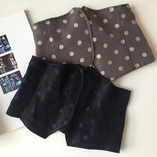 LYS -fantasia for your dress- シースルードットビスチェ