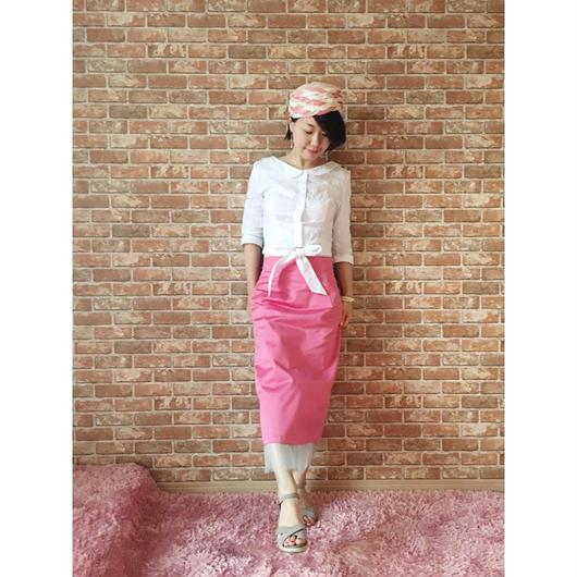 LYS -fantasia for your dress- ハイウエストチュールスカート [pink]