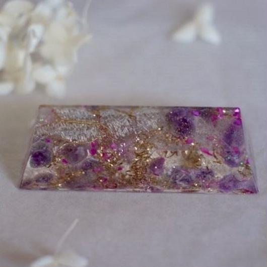 himmel オルゴナイト chocolat  [purple (アメジスト)]