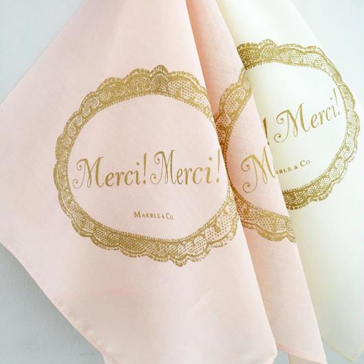 MARBLE & Co. メルシーハンカチ