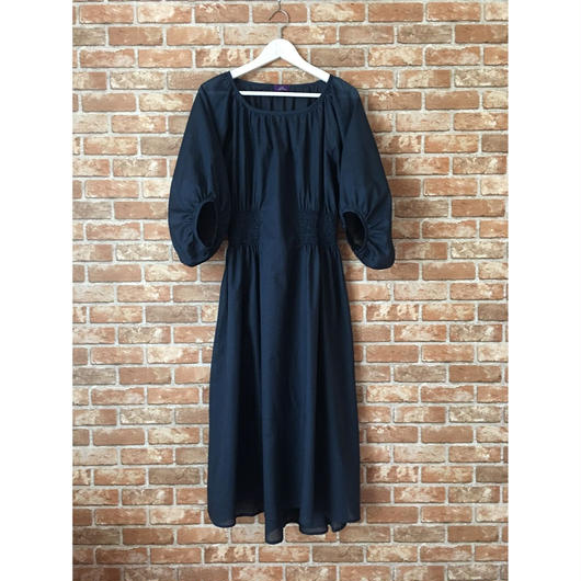 【受注生産/約1ヶ月後のお届け】LYS -fantasia for your dress- Marie Dress  [navy]