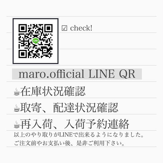 maro.official LINE ID QR