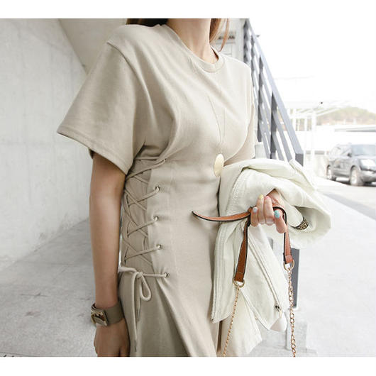 Side Lace-up ONEpiece