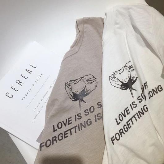 Print O-Neck Tshirt