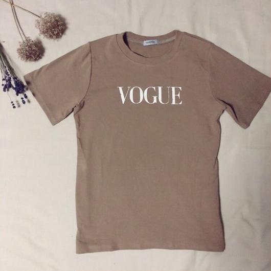 【即日発送】Cafe Color VOGUE Tshirt