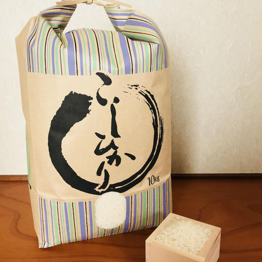 平成29年度静岡県産 精米コシヒカリ (無農薬栽培)10㎏