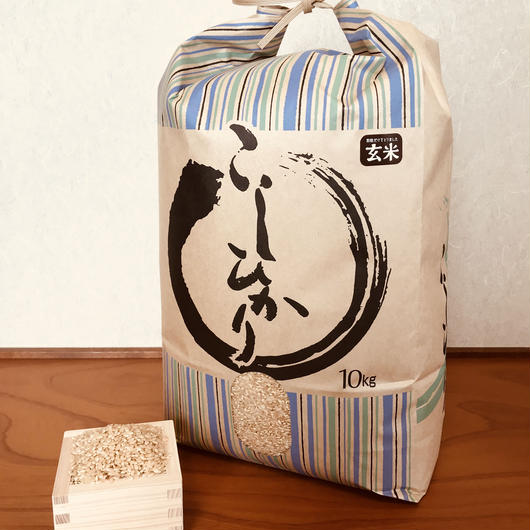 平成29年度静岡県産 玄米コシヒカリ (無農薬栽培)10㎏