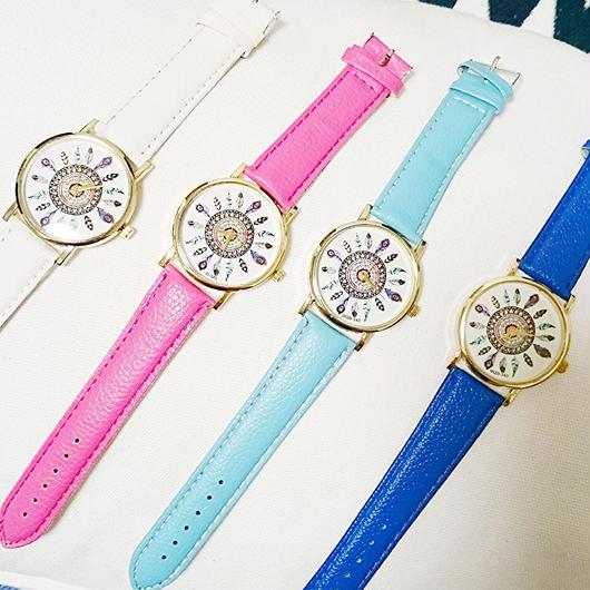 フェザー腕時計