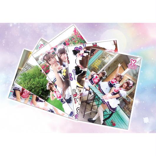 【ぴぃす まりる ひま】OFFICIAL STORE 限定オリジナルブロマイドLサイズ5種セット (FAN EXPO Canada in Toronto)