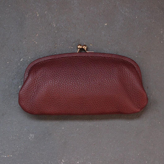 Stitch and Sew/Cowleather Wallet/Bordeaux