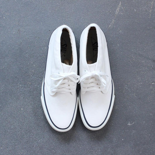 SOLS/The DECK SHOES/WHITE