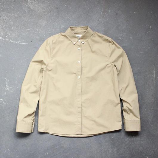 スーピマコットンボタンダウンシャツ/BE