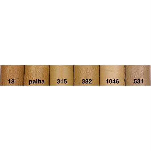 <108色・茶ベージュ系>Linhasita社製ワックスコード0.75mm(ロウビキ紐・蝋引き紐 ・waxcord)