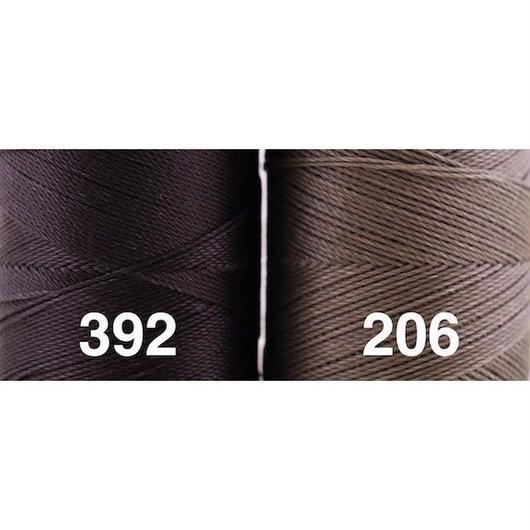 <108色・黒グレー系>Linhasita社製ワックスコード0.75mm(ロウビキ紐・蝋引き紐 ・waxcord)