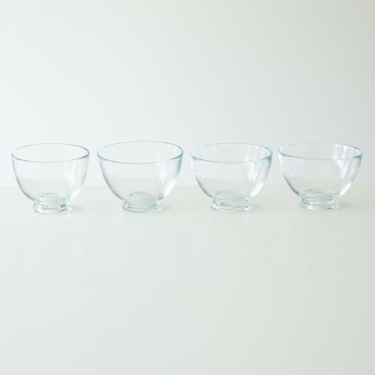 ハンドメイドガラス 小鉢 4個set