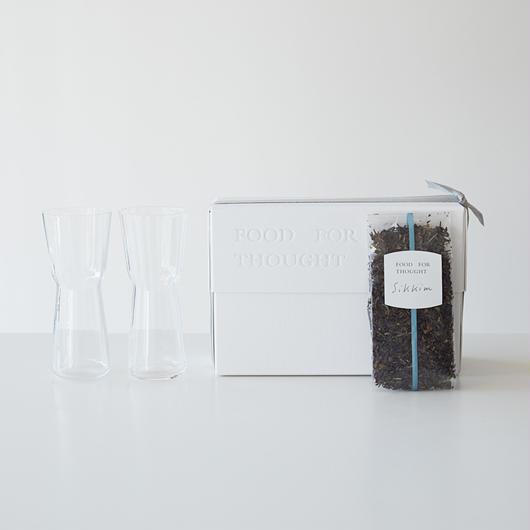 モールグラスと紅茶(シッキム)のset