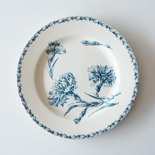 FRANCE / K&G Luneville / 絵皿