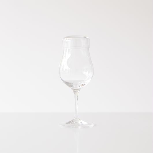 ハンドメイド 蓋つきグラス