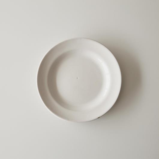 FRANCE / 1700s 白釉プレート