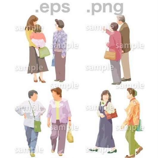 シニアイラスト (EPS , PNG )   se_024