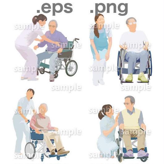 シニアイラスト (EPS , PNG )   se_006