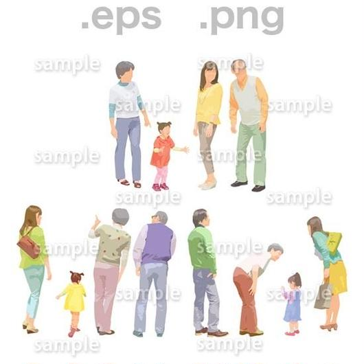 シニアイラスト (EPS , PNG )   se_097