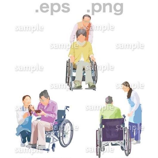 シニアイラスト (EPS , PNG )   se_206