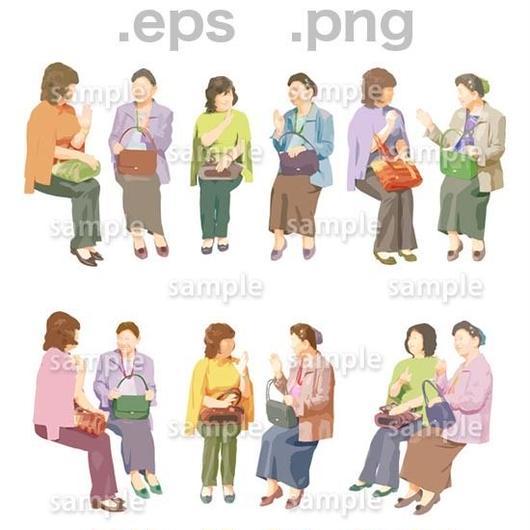 シニアイラスト (EPS , PNG )   se_034